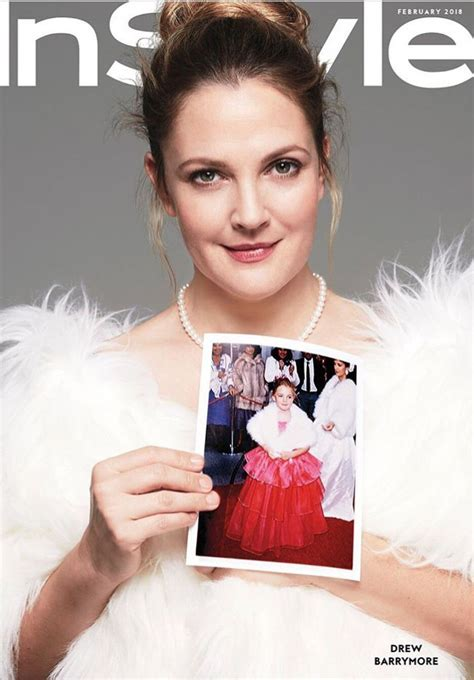 February It Drew Barrymore by Drew Barrymore Instyle February 2018