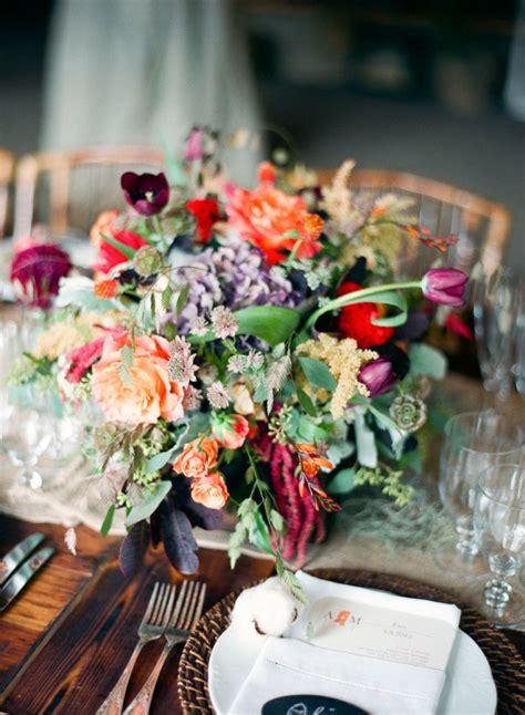 gorgeous wedding color palettes  autumn
