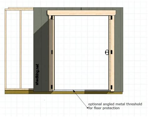 Double Shed Doors Exterior Doors For A Shed