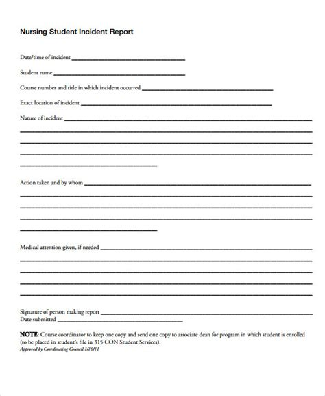 incident reports sles affairs report template 28 images incident report