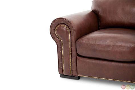 cordovan leather sofa michael amini mia bella leather cordovan modern mansion
