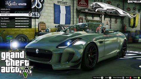 Car Mod Types jaguar f type 2014 gta v car mod tuning soley911