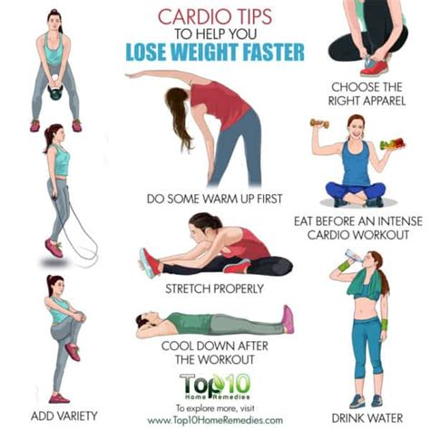 Does Exercise Help You Detox Faster by 10 Cardio Tips To Help You Lose Weight Faster Top 10
