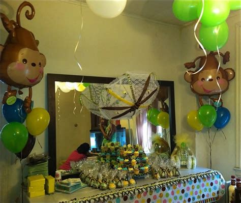 vintage centerpieces for baby shower marvelous monkey themed baby shower centerpieces 88 for
