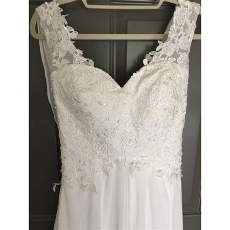 Wedding Dresses Size 0 by White Vintage Wedding Dress Size 0 Xs Tradesy