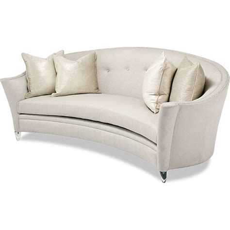 Curved Sofas And Loveseats Curved Loveseat Faux Leather Sofa Bed Kjiyutct Castelle Veracruz Curved Loveseat Cast Aluminum