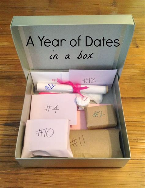 couple date gifts gift the couples in your with a creative box of date nights for them to enjoy it s a neat
