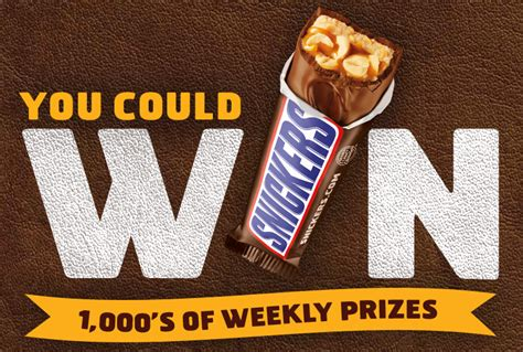 Snickers Sweepstakes - snickers game day satisfaction sweepstakes