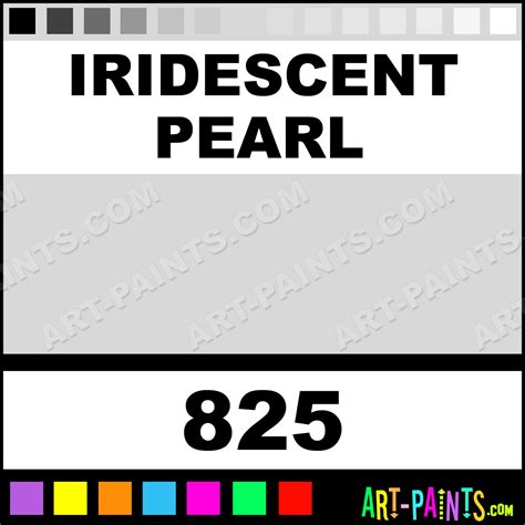 iridescent pearl classic acrylic paints 825 iridescent pearl paint iridescent pearl color