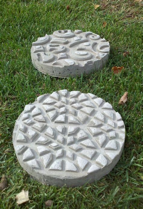 diy garden stepping stones  owner builder network