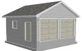 20 X 24 Garage Plans Easy To Follow Garage 20 X 20 X 9 Plan Free House Plan