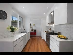 Corridor Kitchen Design Modern White Galley Kitchen House Stuff White Galley Kitchens Galley Kitchens