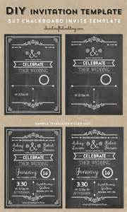 chalkboard invitation template chalkboard wedding invitations on slate