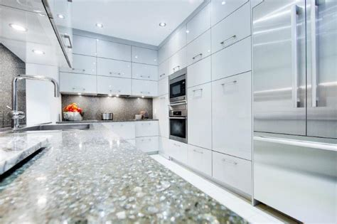 comptoire cuisine comptoir de cuisine quartz blanc akb et blancilot