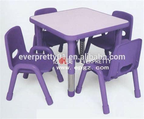 table chaise enfant plastique jardin d enfants et l 233 cole maternelle table en plastique