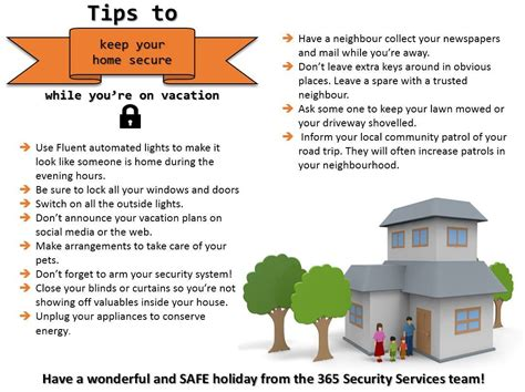 safety tips 365 security services
