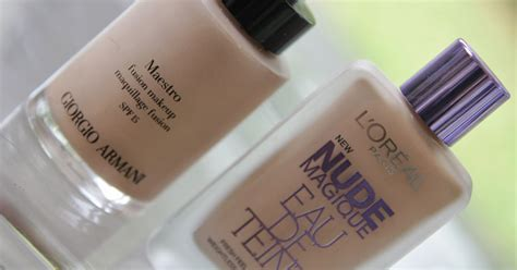 Loreal Partners With Armani On Skin Care by L Oreal Eau De Teint Foundation Armani Maestro Dupe