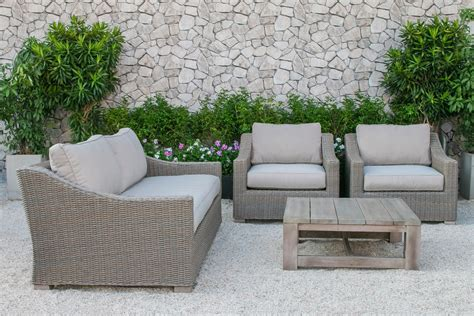 christopher home puerta grey outdoor wicker sofa set