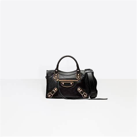 Balenciaga Mini And City Edge s classic metallic edge mini city balenciaga