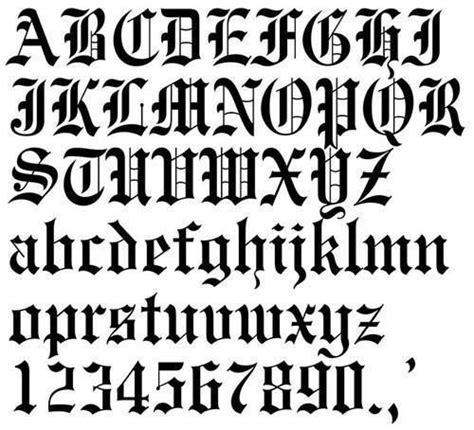 lettere gotiche come scrivere lettere gotiche disegni ed esempi