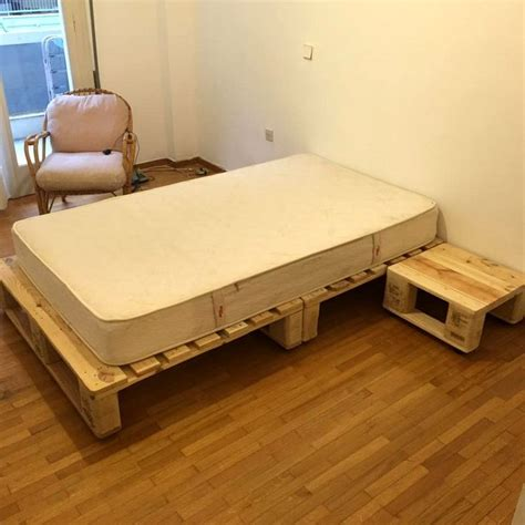 Pallet Bed Frame Plans 1000 Ideas About Pallet Bed Frames On Bed Frame Plans Rustic Platform Bed And