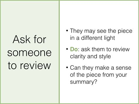 the best way to write a summary wikihow