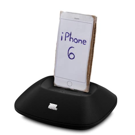 Jvcs Dock Stand Because They Could by Iphone Charger Sound Embiggener Stand