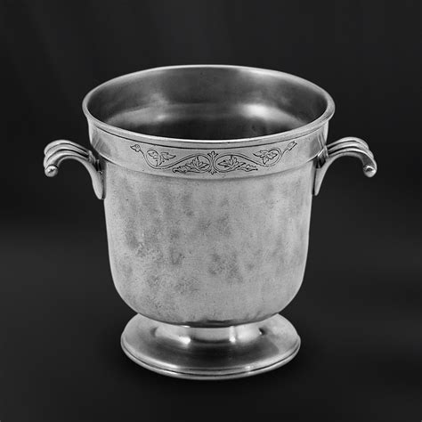 pewter barware pewter ice bucket italian pewter barware