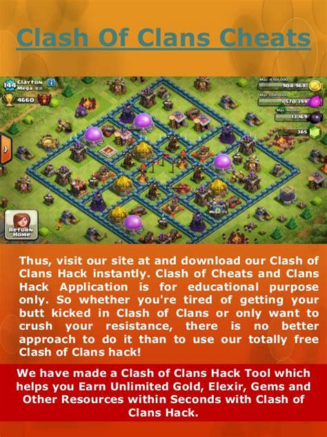 coc hack how to hack clash of clans to get free gems clash of clans cheats hack cheat elexir gems gold in coc