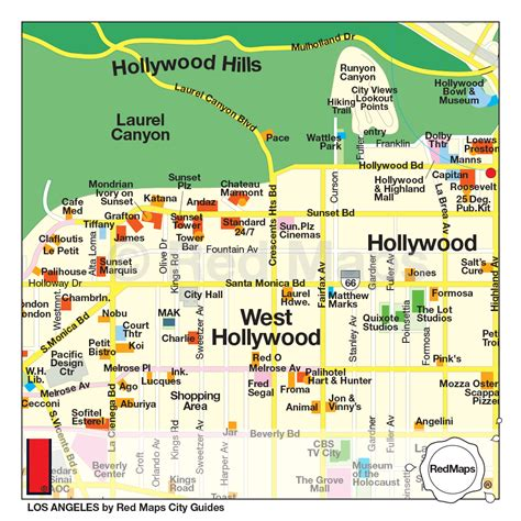 map los angeles los angeles city guide by maps