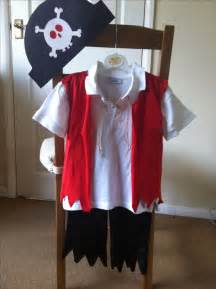 Handmade Pirate Costume - diy pirate costume diy