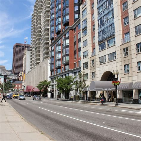 Boston Apartments Tremont Colonnade Row Tremont Boston Lost New