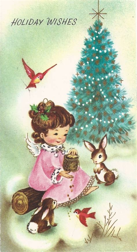 leaping frog designs  vintage christmas card clip art holiday wishes merry christmas