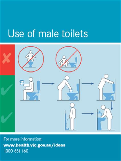 how do guys use the bathroom toilet usage instruction in picture voices inside my head