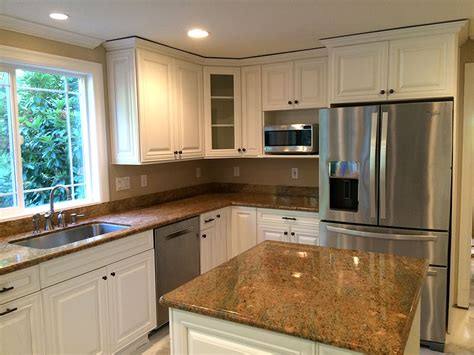 professional painting kitchen cabinets sound finish cabinet painting refinishing seattle