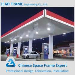 Gasoline Station Canopy by Prefab Low Cost Gas Station Canopy Buy Gas Station