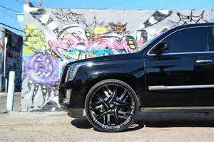 Cadillac Escalade On 30s Tuningcars Cadillac Escalade On 30 Inch Forgiato Wheels