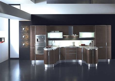 curved kitchen cabinets curved modern kitchen cabinets decoist