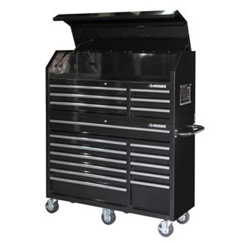husky 52 in 18 drawer tool chest and cabinet set husky 52 in 18 drawer tool chest and from home depot
