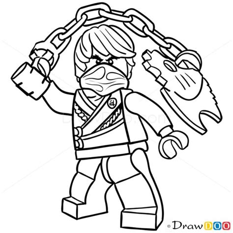 coloring pages ninjago cole how to draw cole lego ninjago stuff to buy pinterest