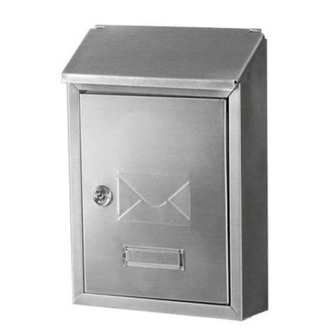gibraltar mailboxes hudson stainless steel decorative