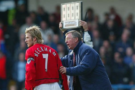 david beckham football player biography sir alex ferguson to explain sale of david beckham and co