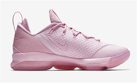 Nike Lebron this nike lebron 14 low comes in pink sneakers cartel