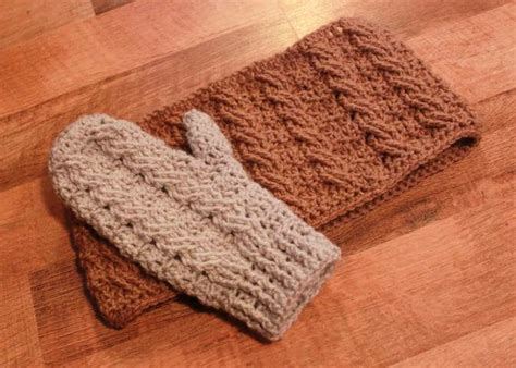 etsy mitten pattern instant download crochet pattern cable mittens and