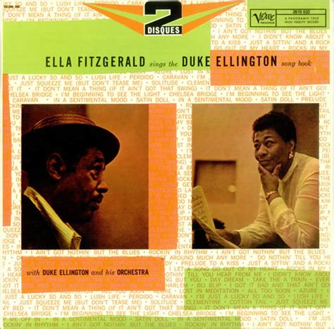 the duke of the untouchables volume 7 books ella fitzgerald duke ellington sings the duke ellington