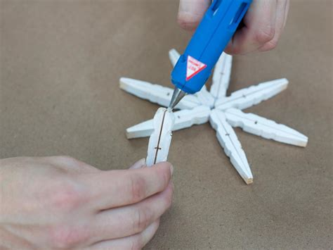 Project 3 Diane Clothespin by Turn Clothespins Into Tree Ornaments Hgtv