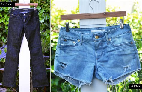 diy distressed shorts tutorial mr kate diy style perfectly distressed jean shorts
