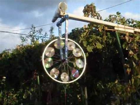 pale eoliche da terrazzo girandola 9 cd ruota di bicicletta