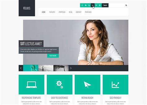 business web design homepage 65 flat psd website templates web graphic design