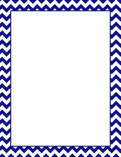 Printable Navy Chevron Border Free Gif Jpg Pdf And Png Chevron Border Template